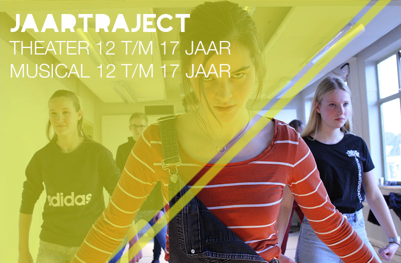 jaartraject theater of musical voor jongeren