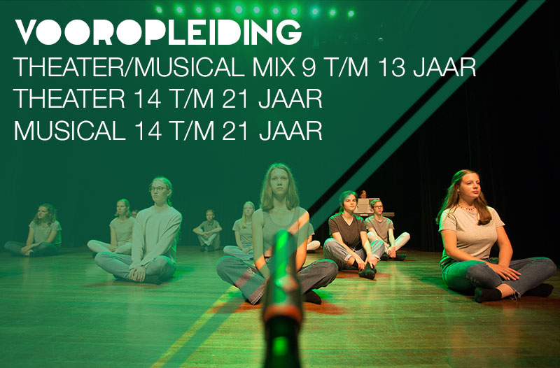 vooropleiding theater of Musical in Zwolle
