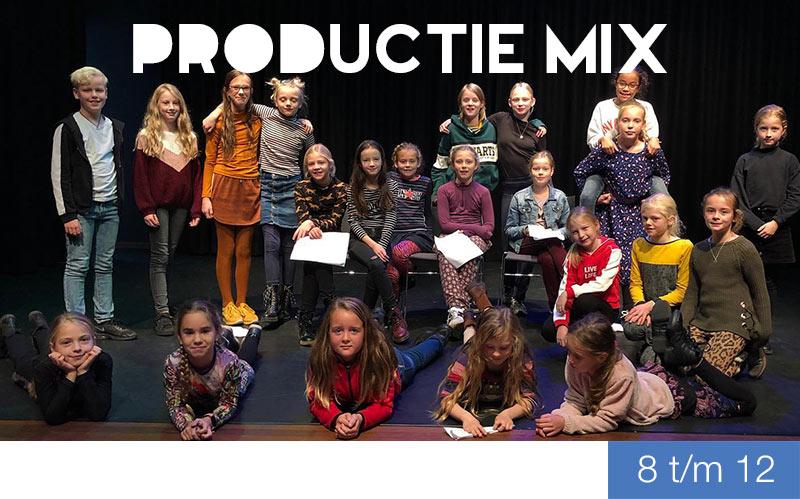 Productie Mix - theater en musical voor kinderen Jeugdtheaterschool Dalfsen